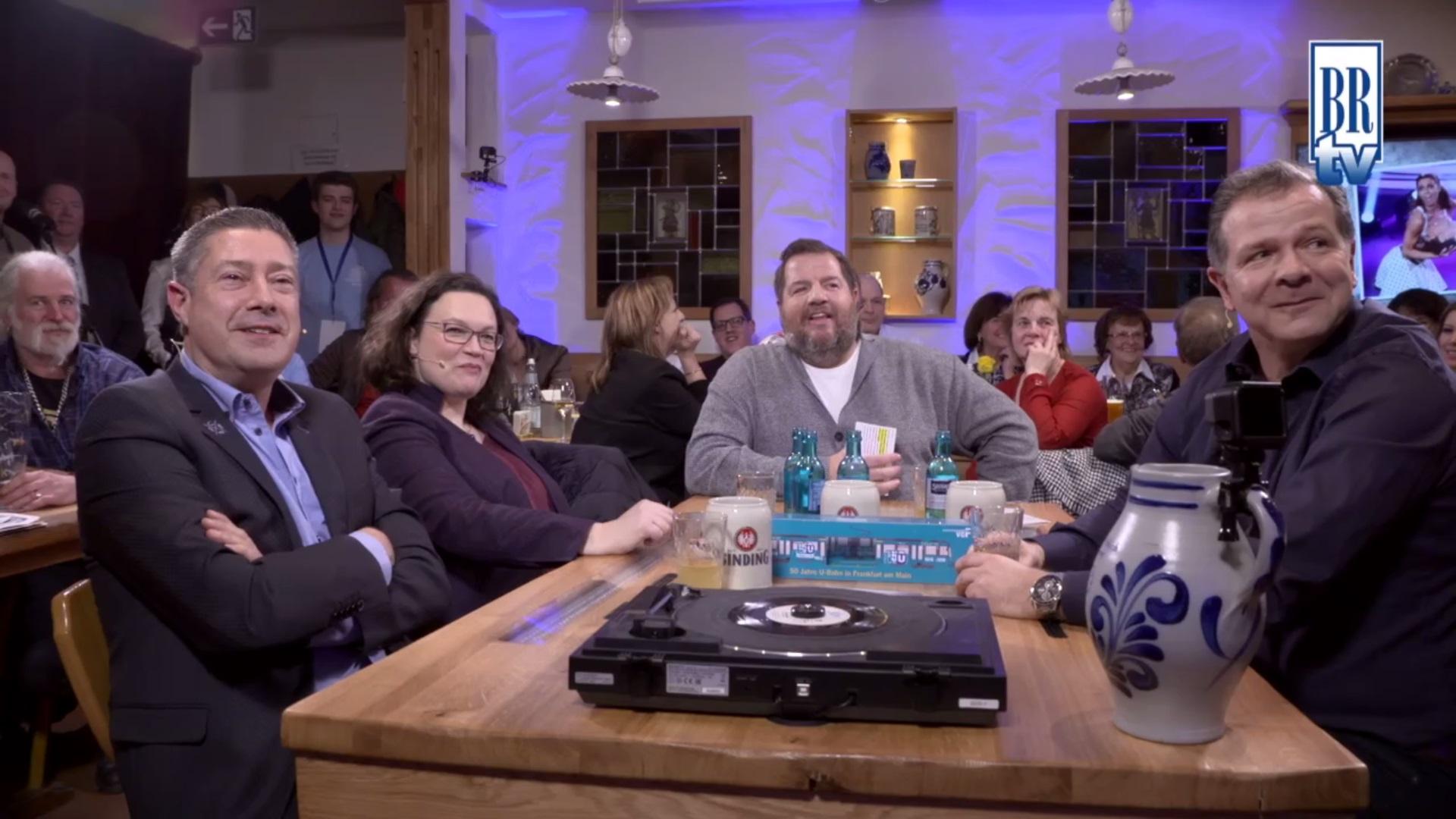 Bembel & Gebabbel – Folge 41 mit Andrea Nahles, Joachim Llambi & Andy Möller